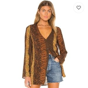 House of Harlow x Revolve: Amal top S
